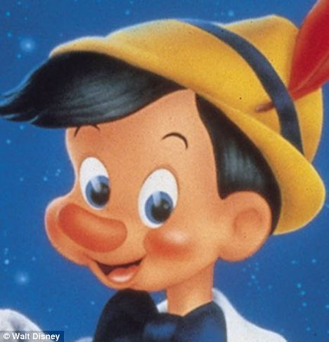 The Pinocchio effect: Researchers at the University of Granada found that the temperature of the nose rises as a person becomes anxious