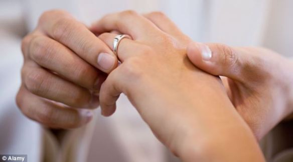 Women who have tied the knot are least at risk of a fatal heart attack, according to research