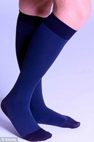 There is no evidence that wearing compression stockings prevents the development of DVT, says a leading expert