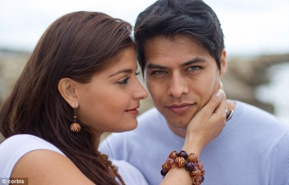 Familiarity: Women were more likely to find a man attractive if they recognised his face, the study found