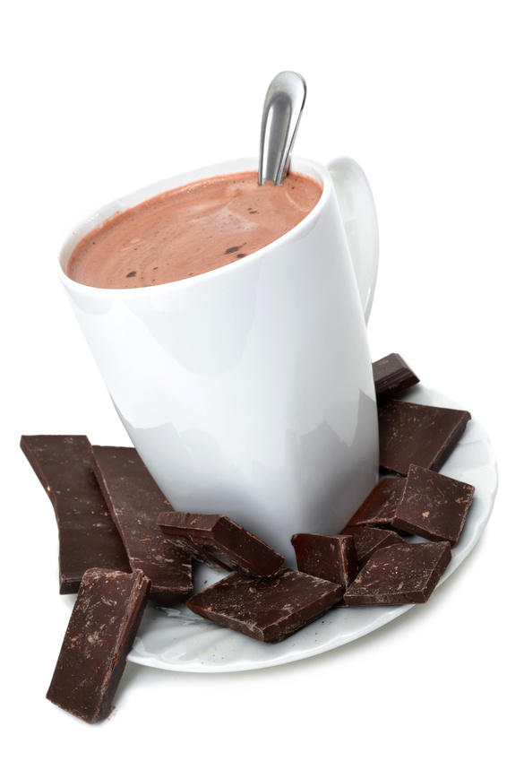 A few cups of hot cocoa may not only fight off the chill of a winter's day, but they could also help obese people better control inflammation-related diseases, such as diabetes. (Credit: © Kimberly Reinick / Fotolia)